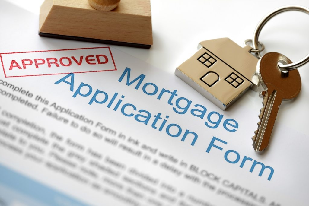 An approved mortgage form