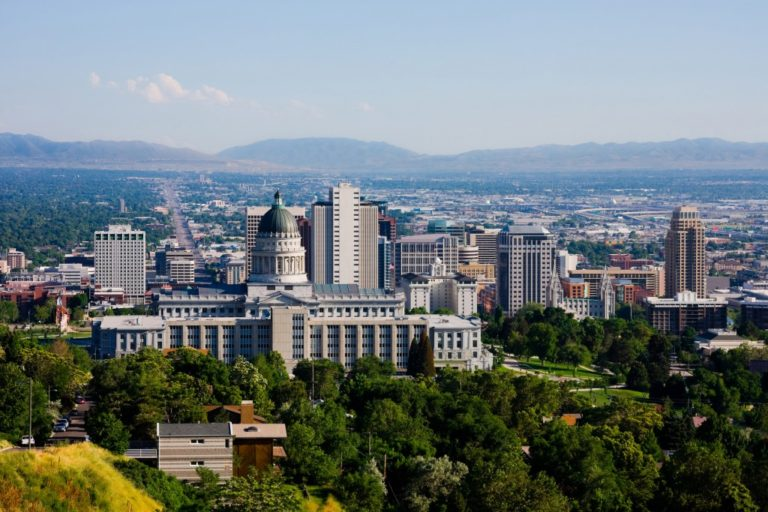 Utah skyline