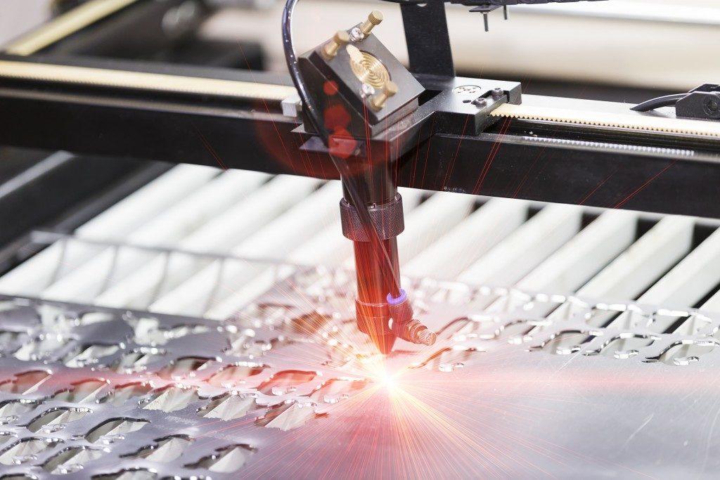 Metal laser engraver