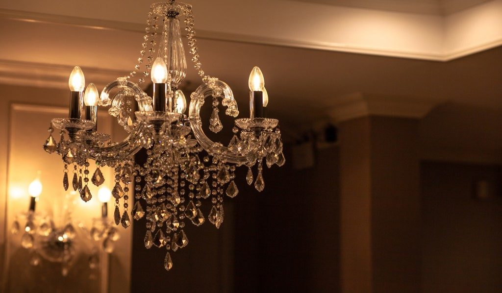 Luxury home chandelier