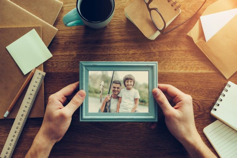 picture with a frame