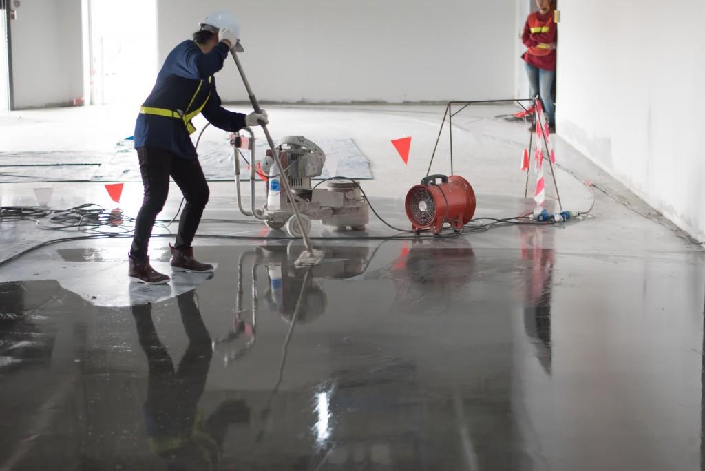 Types of Concrete Floor Cleaners