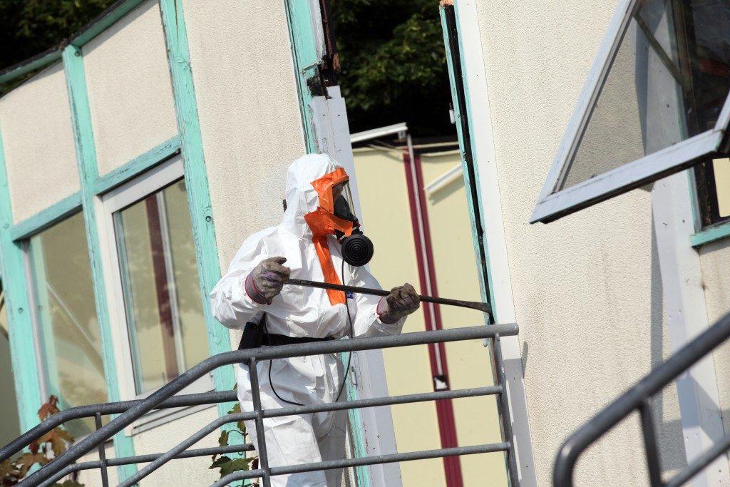 checking for asbestos