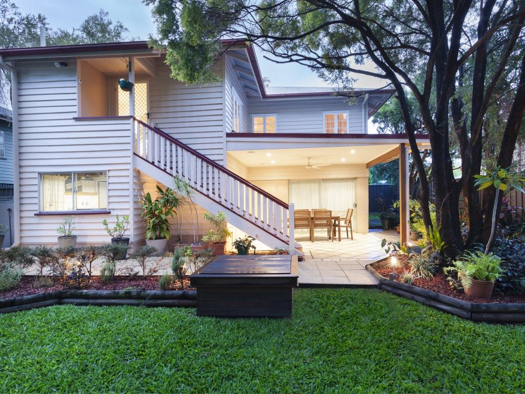 home in Australia