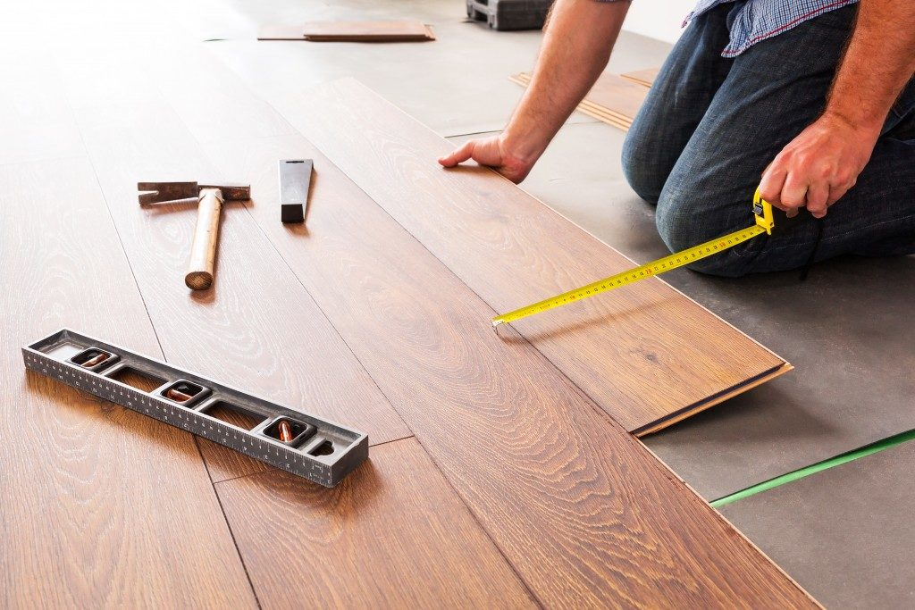 flooring tiles installation