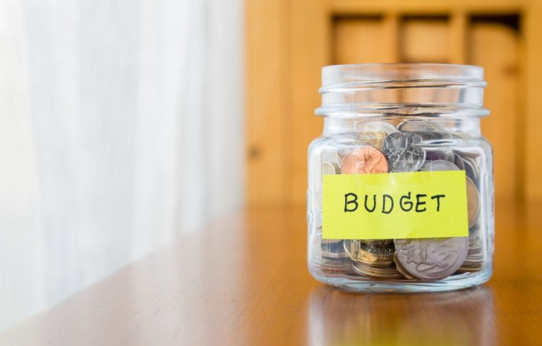budget money jar