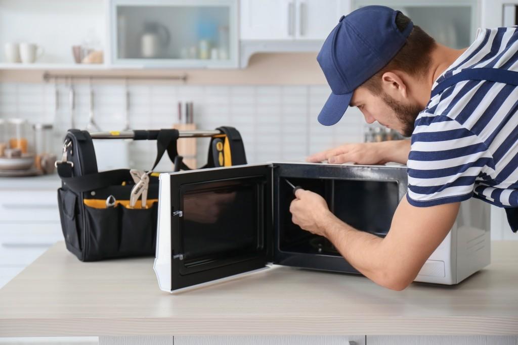 Fixing microwave