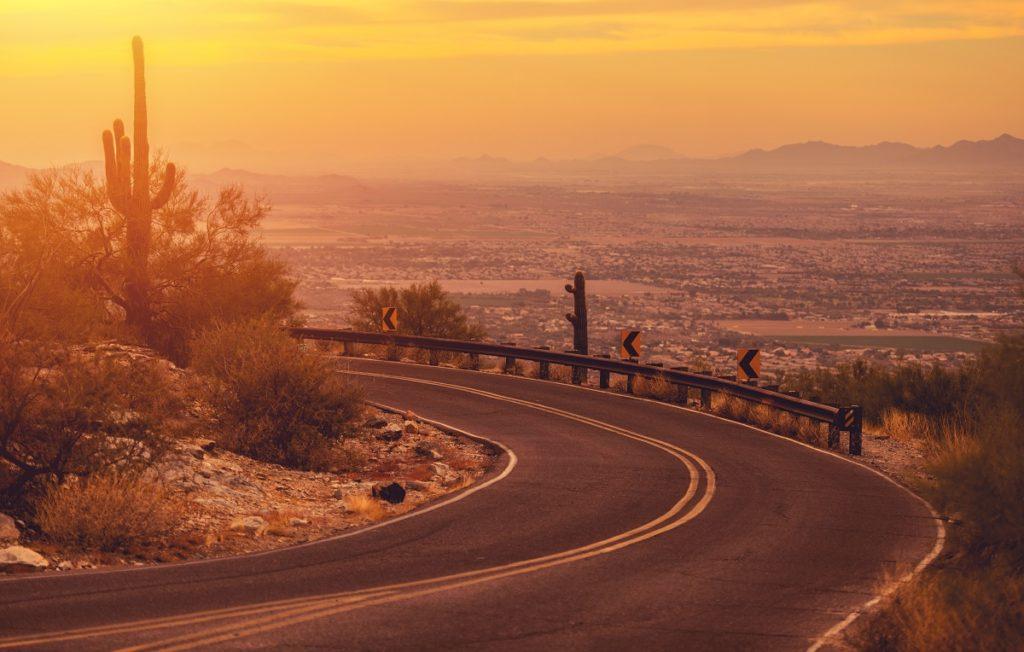 road in Navajo Nation