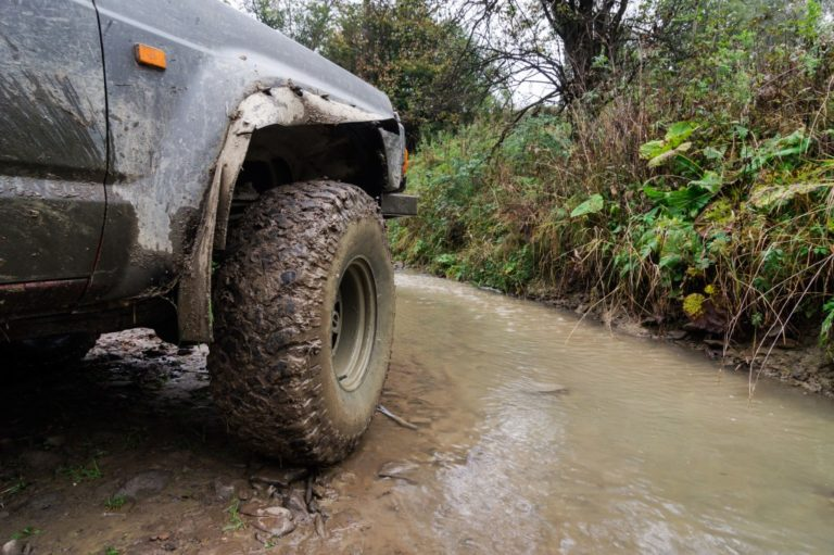 going off-road