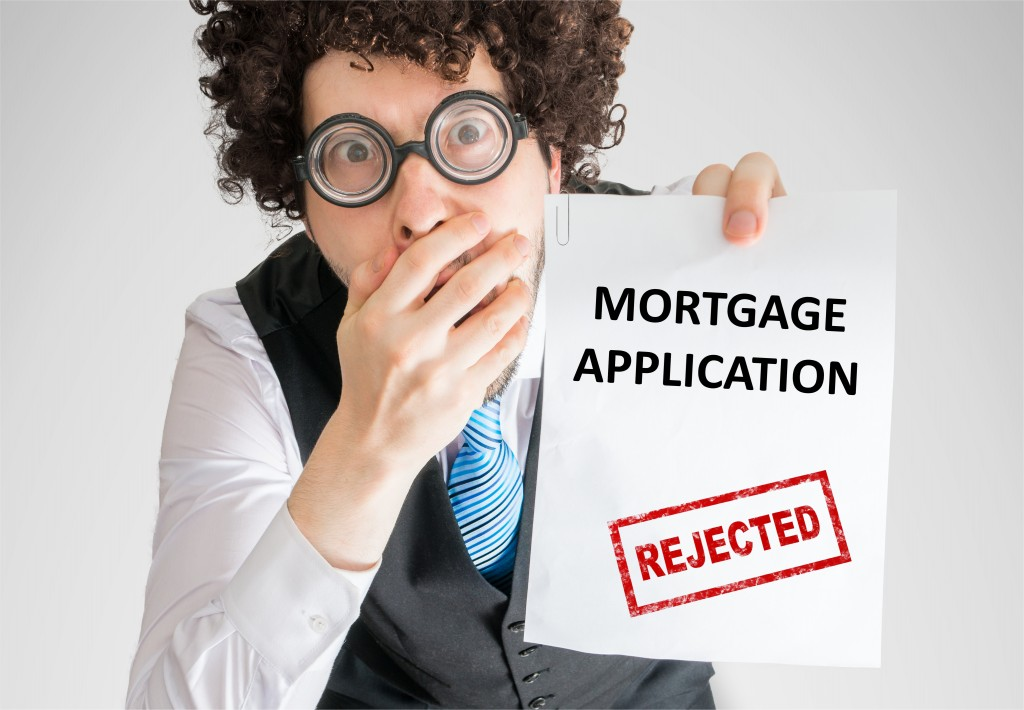 mortgage application rejection